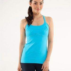 lululemon athletica Tops - Lululemon Scoop Me Up Tank Top Blue Size 6